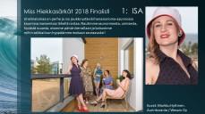 Miss Hiekkasärkät 2018 finalisti 1 Isa